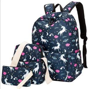 BLUBOON Teens Backpack Set